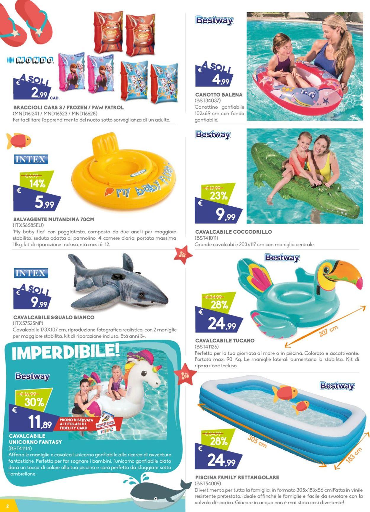 Volantino Toys Center - Offerte 04/07-28/07/2019 (Pagina 2)