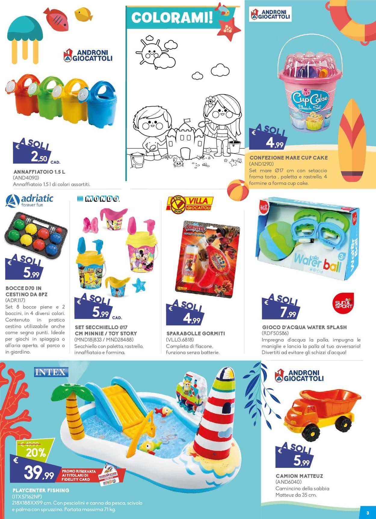 Volantino Toys Center - Offerte 04/07-28/07/2019 (Pagina 3)