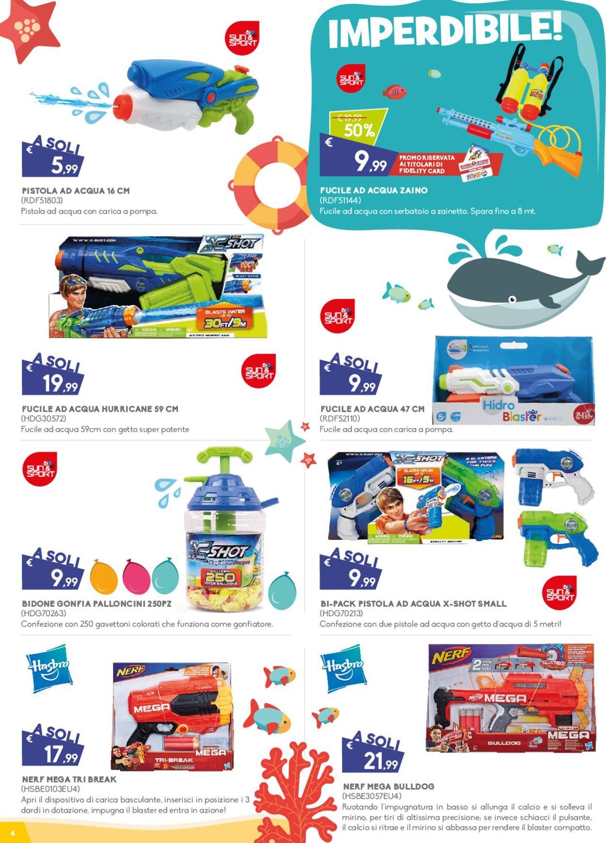 Volantino Toys Center - Offerte 04/07-28/07/2019 (Pagina 4)