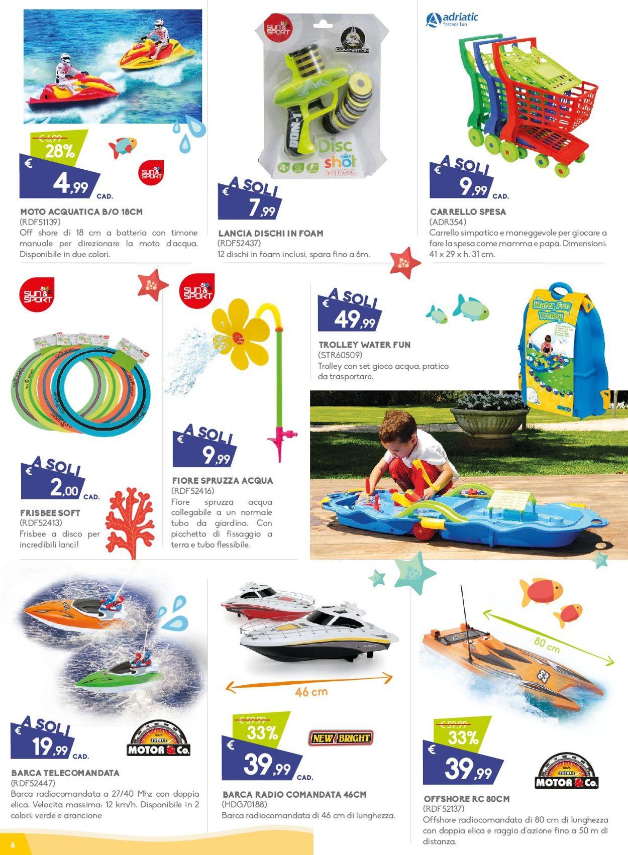 Volantino Toys Center - Offerte 04/07-28/07/2019 (Pagina 6)