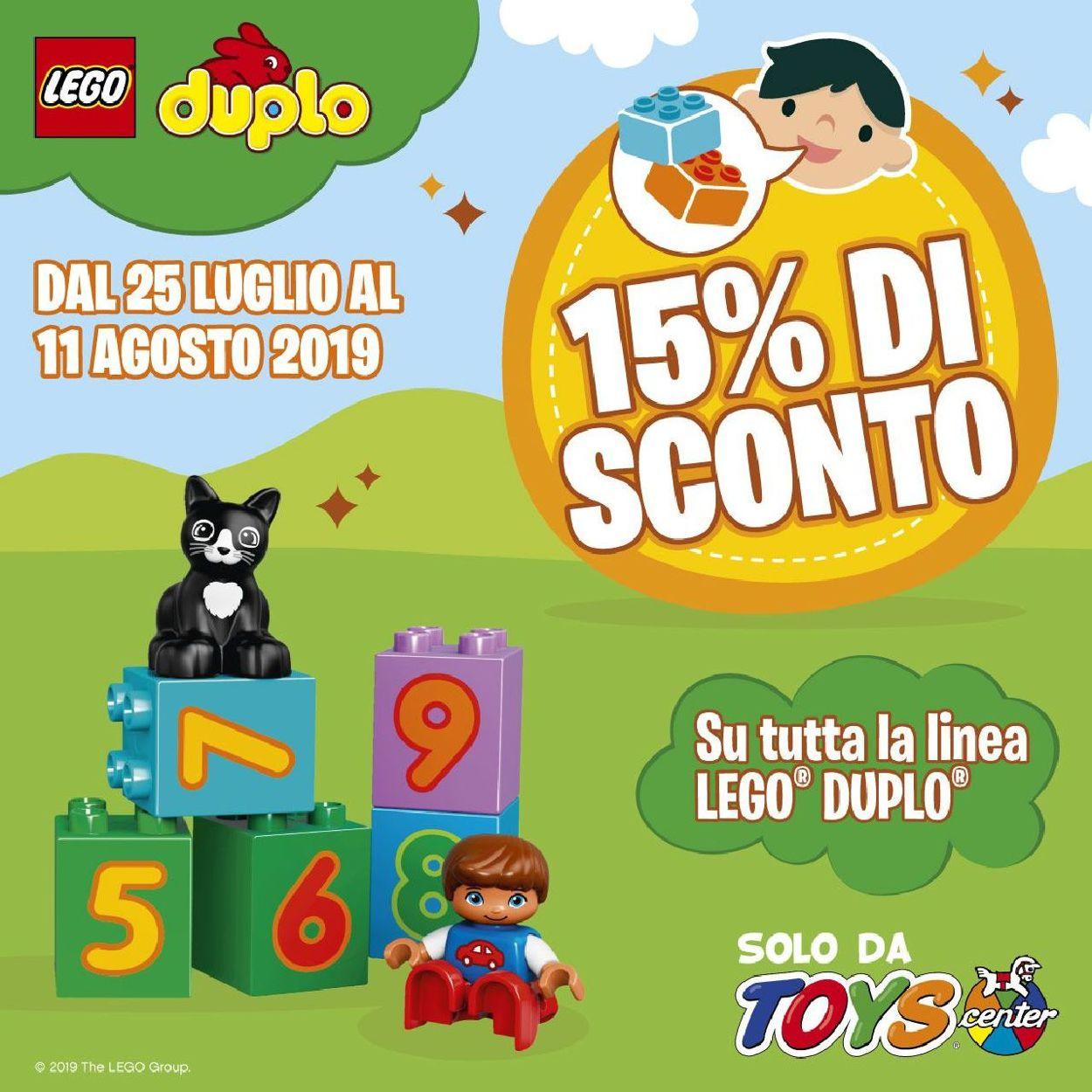 Volantino Toys Center - Offerte 25/07-11/08/2019