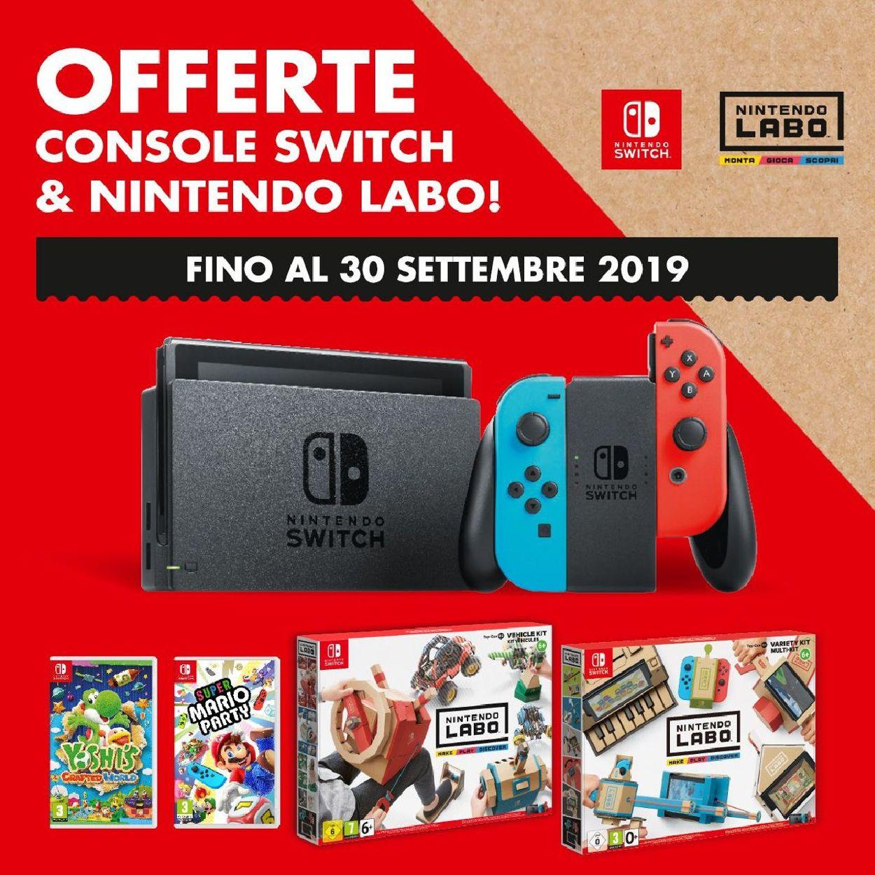 Volantino Toys Center - Offerte 30/07-30/09/2019