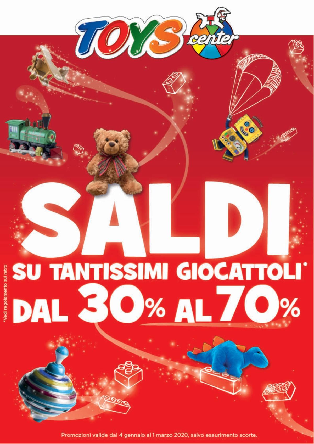 Volantino Toys Center - Offerte 04/01-01/03/2020
