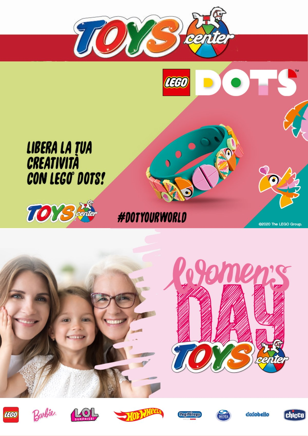 Volantino Toys Center - Offerte 04/03-19/03/2020