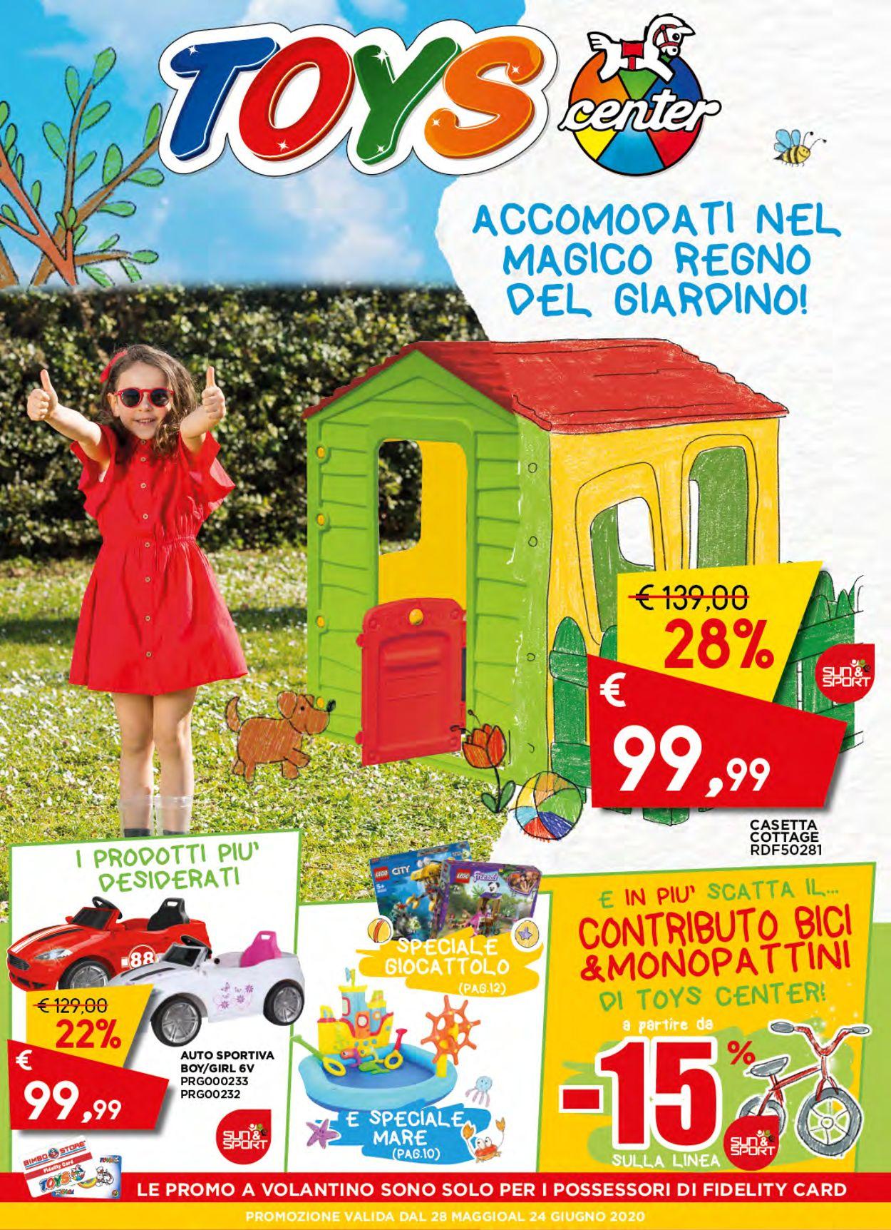 Volantino Toys Center - Offerte 28/05-24/06/2020