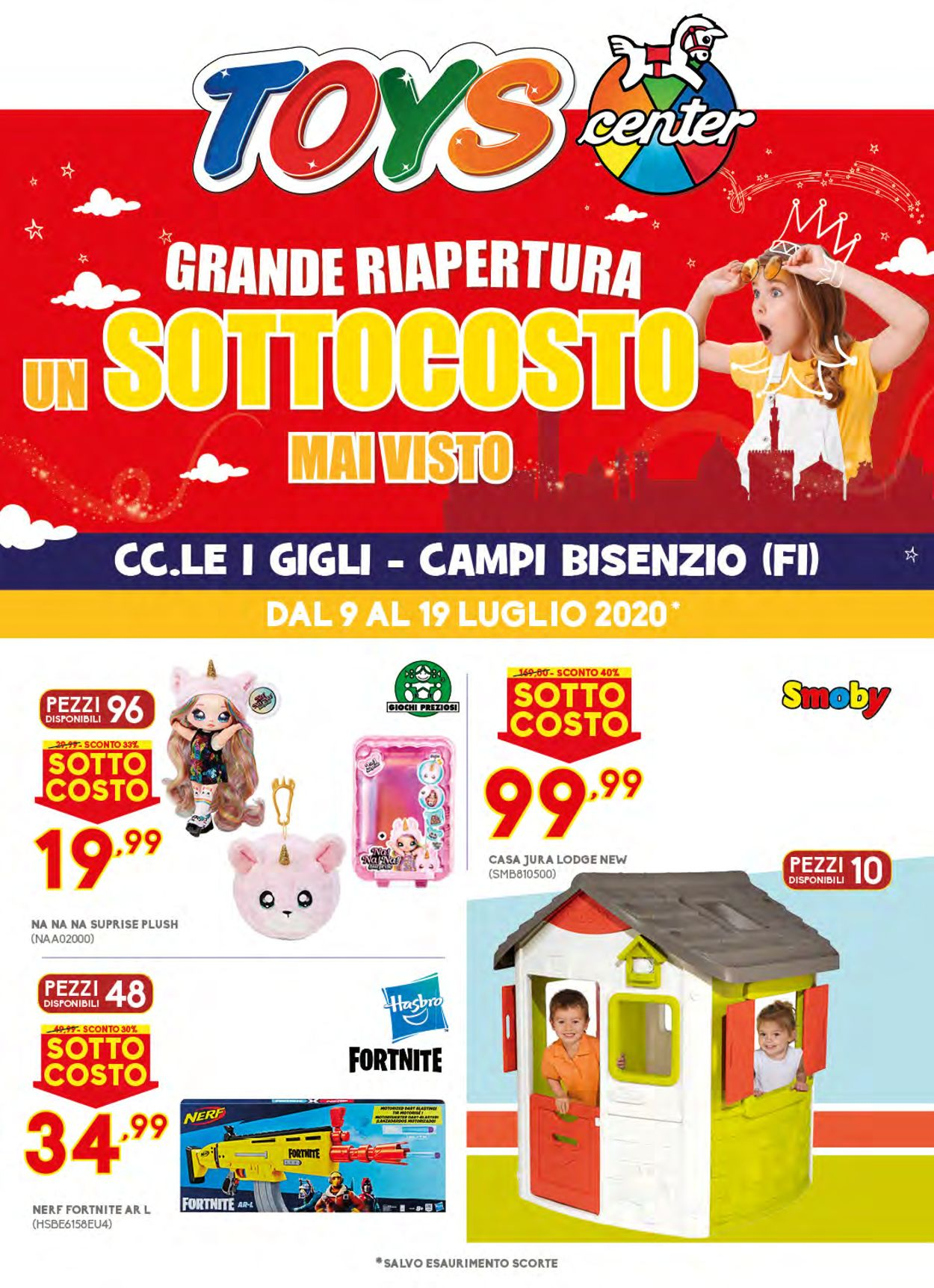 Volantino Toys Center - Offerte 09/07-19/07/2020
