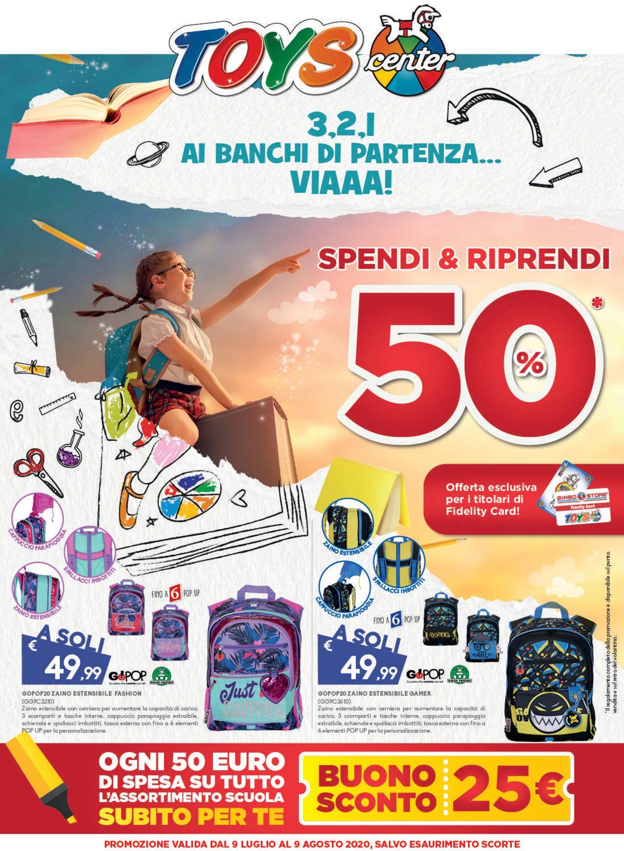 Volantino Toys Center - Offerte 09/07-09/08/2020