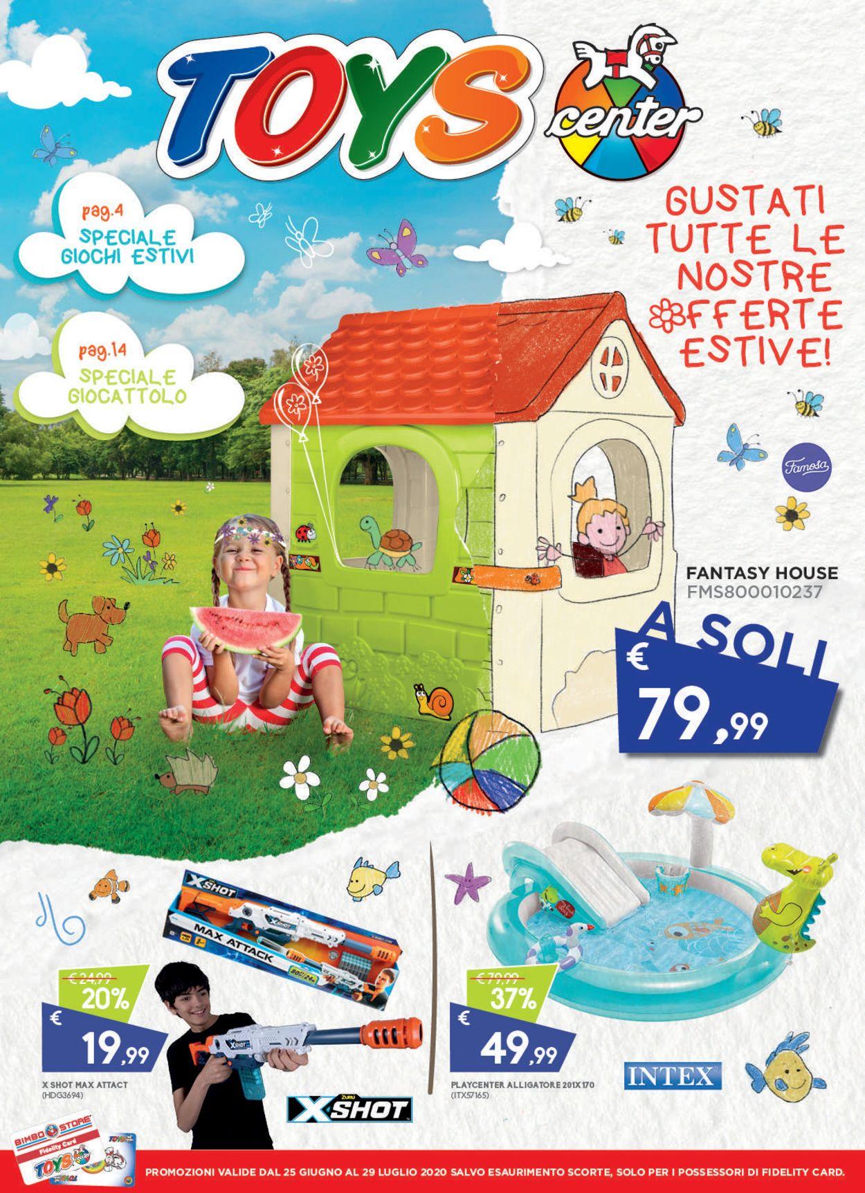 Volantino Toys Center - Offerte 25/07-29/07/2020