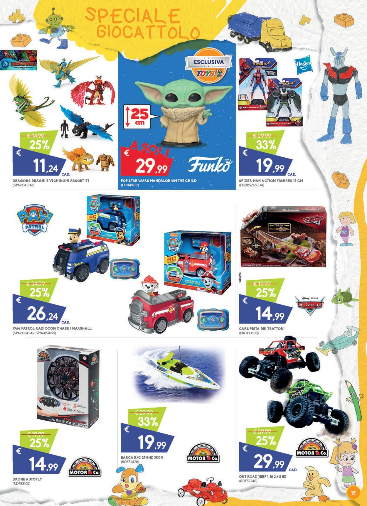 Volantino Toys Center - Offerte 25/07-29/07/2020 (Pagina 15)