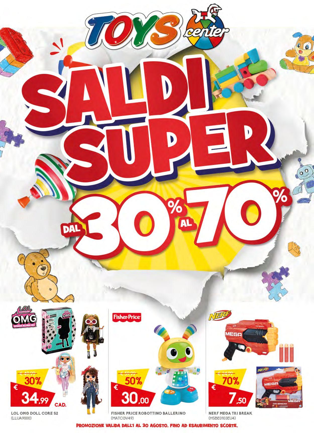 Volantino Toys Center - Offerte 01/08-30/08/2020