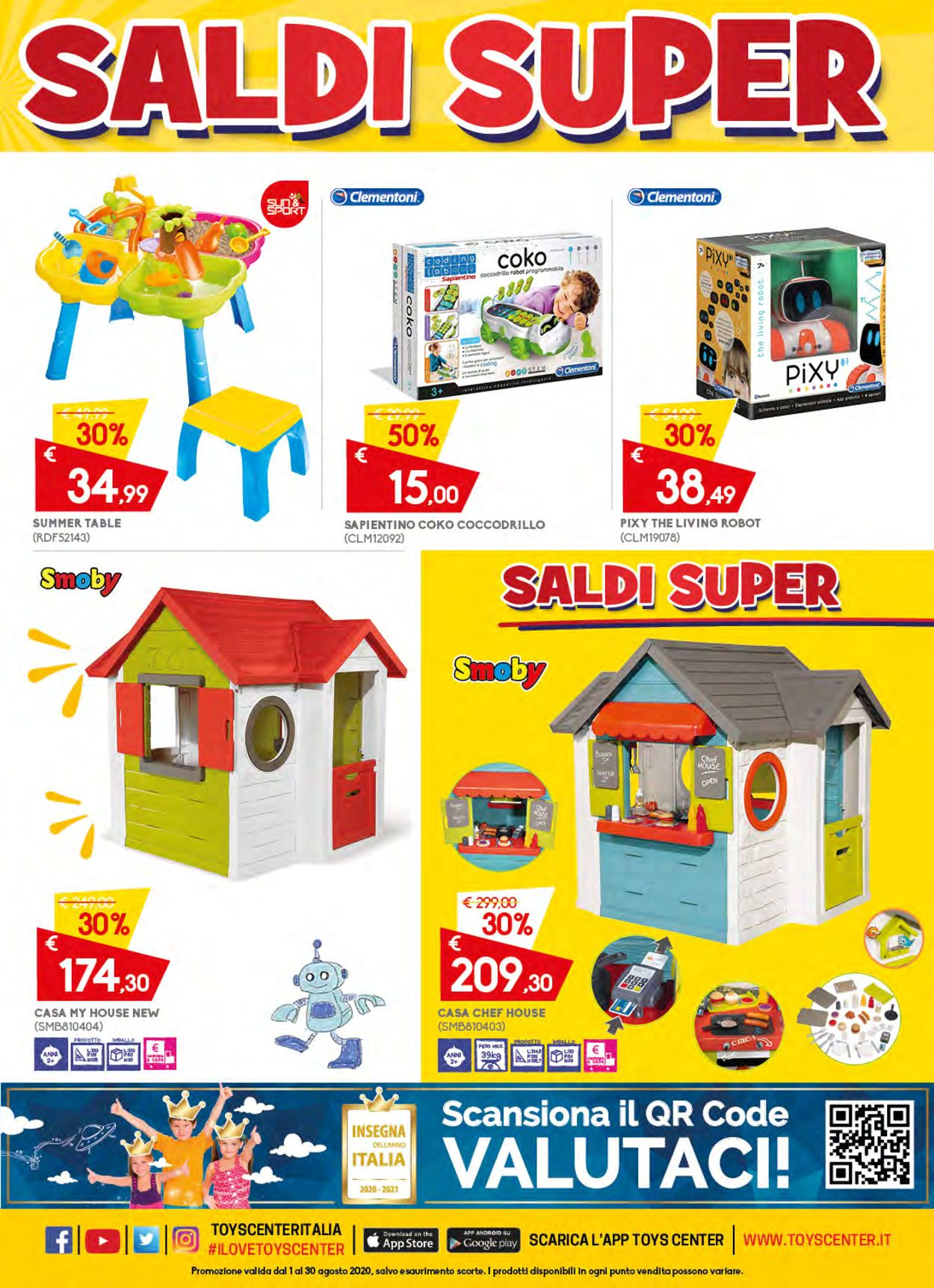 Volantino Toys Center - Offerte 01/08-30/08/2020 (Pagina 13)