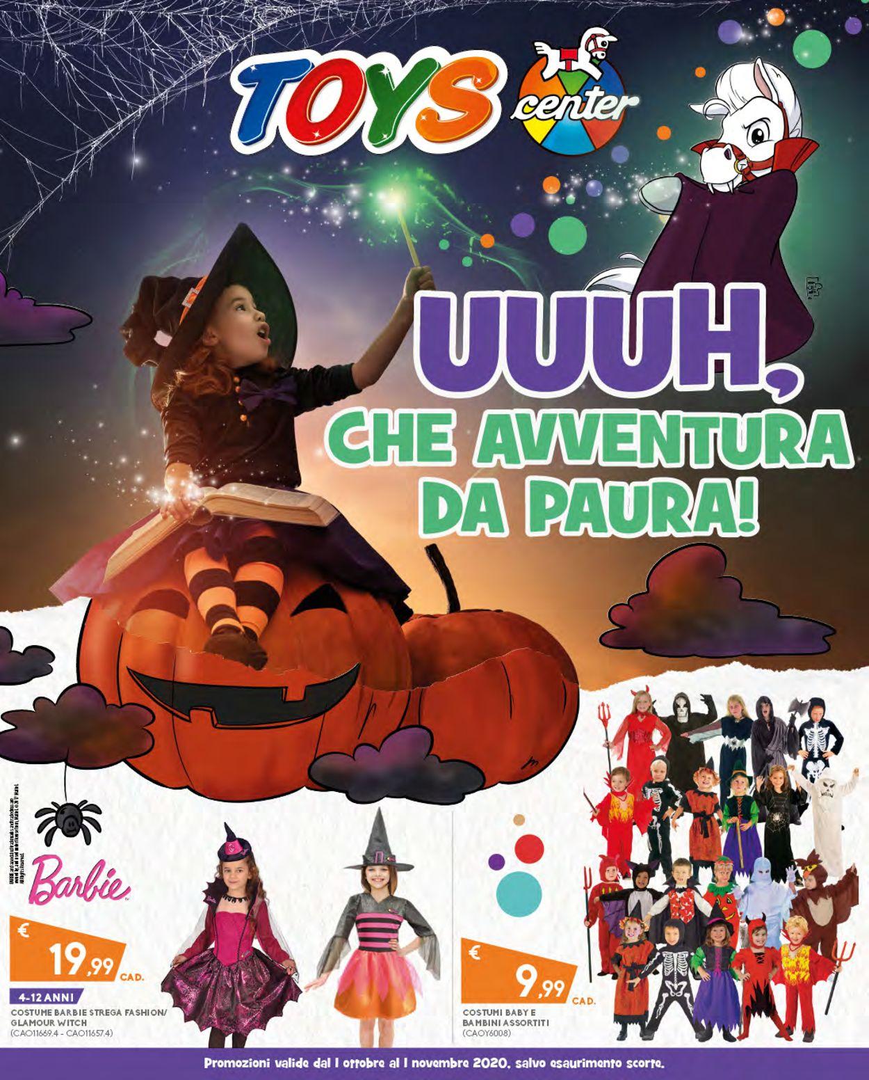Volantino Toys Center - Offerte 01/10-01/11/2020