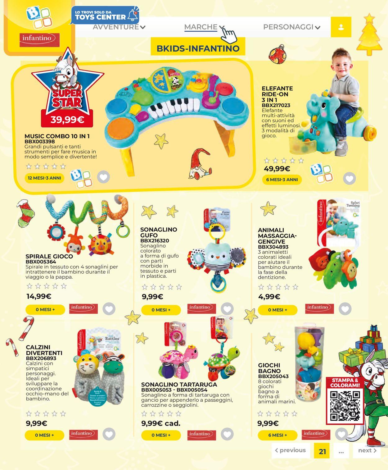 Volantino Toys Center - Offerte 14/10-11/01/2021 (Pagina 23)