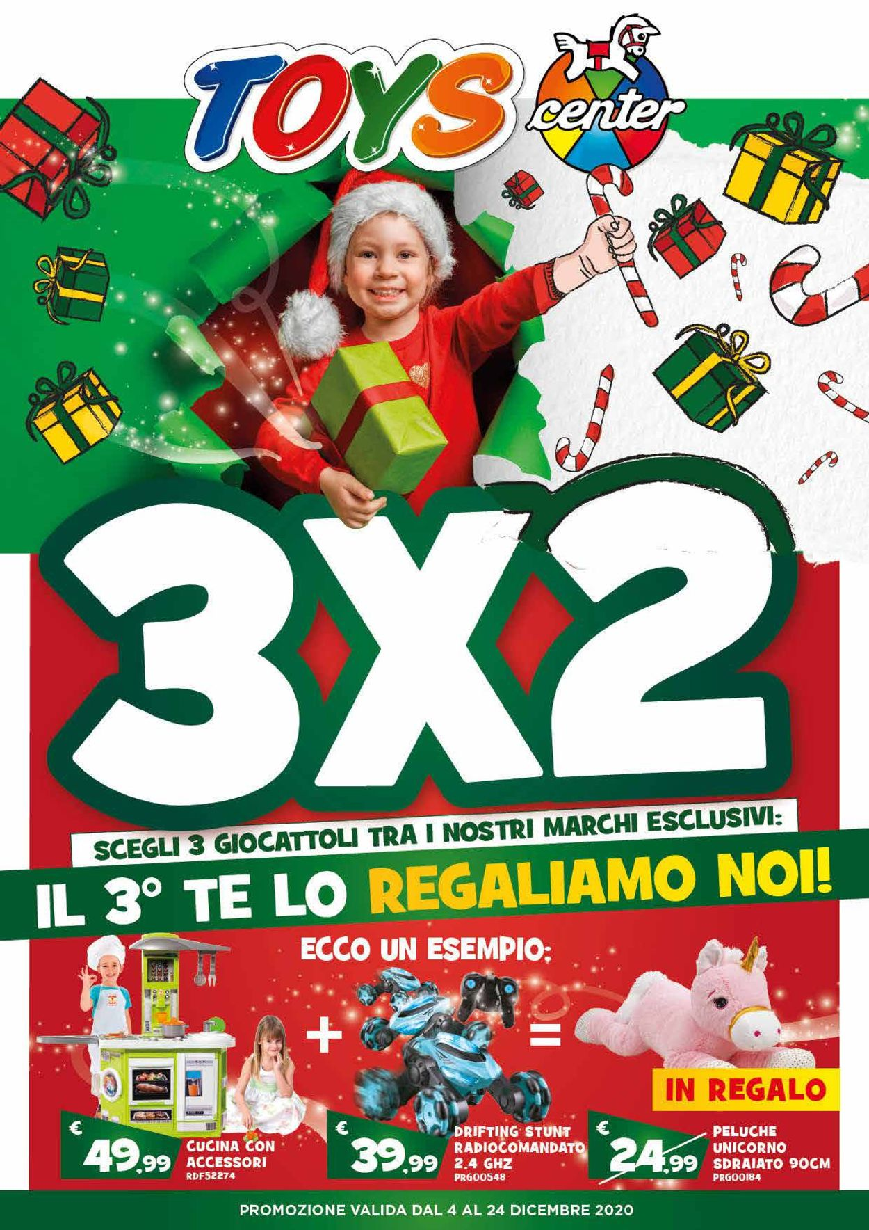 Volantino Toys Center - Natale 2020 - Offerte 04/12-24/12/2020
