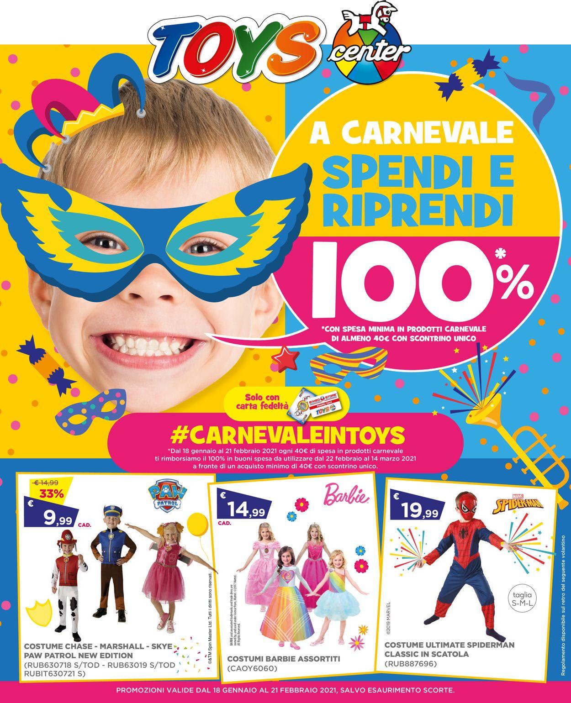 Volantino Toys Center - Offerte 18/01-21/02/2021