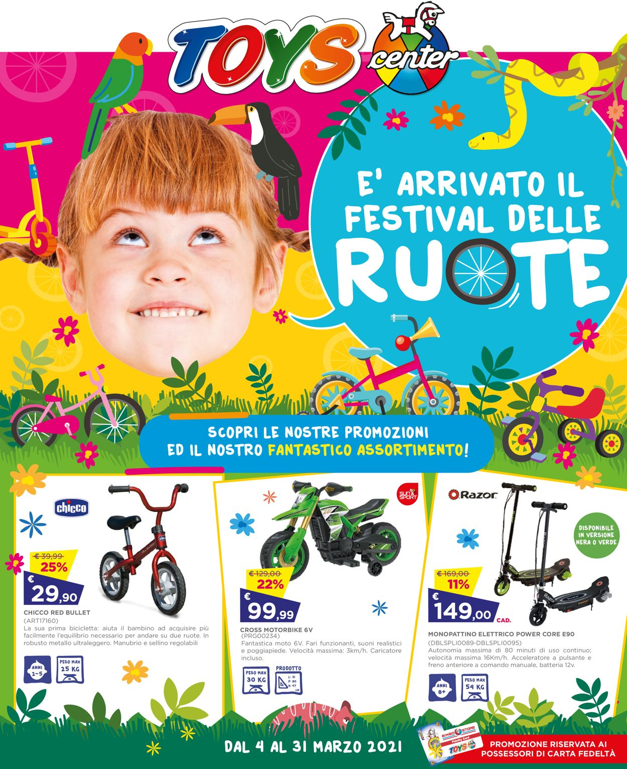 Volantino Toys Center - Offerte 04/03-31/03/2021