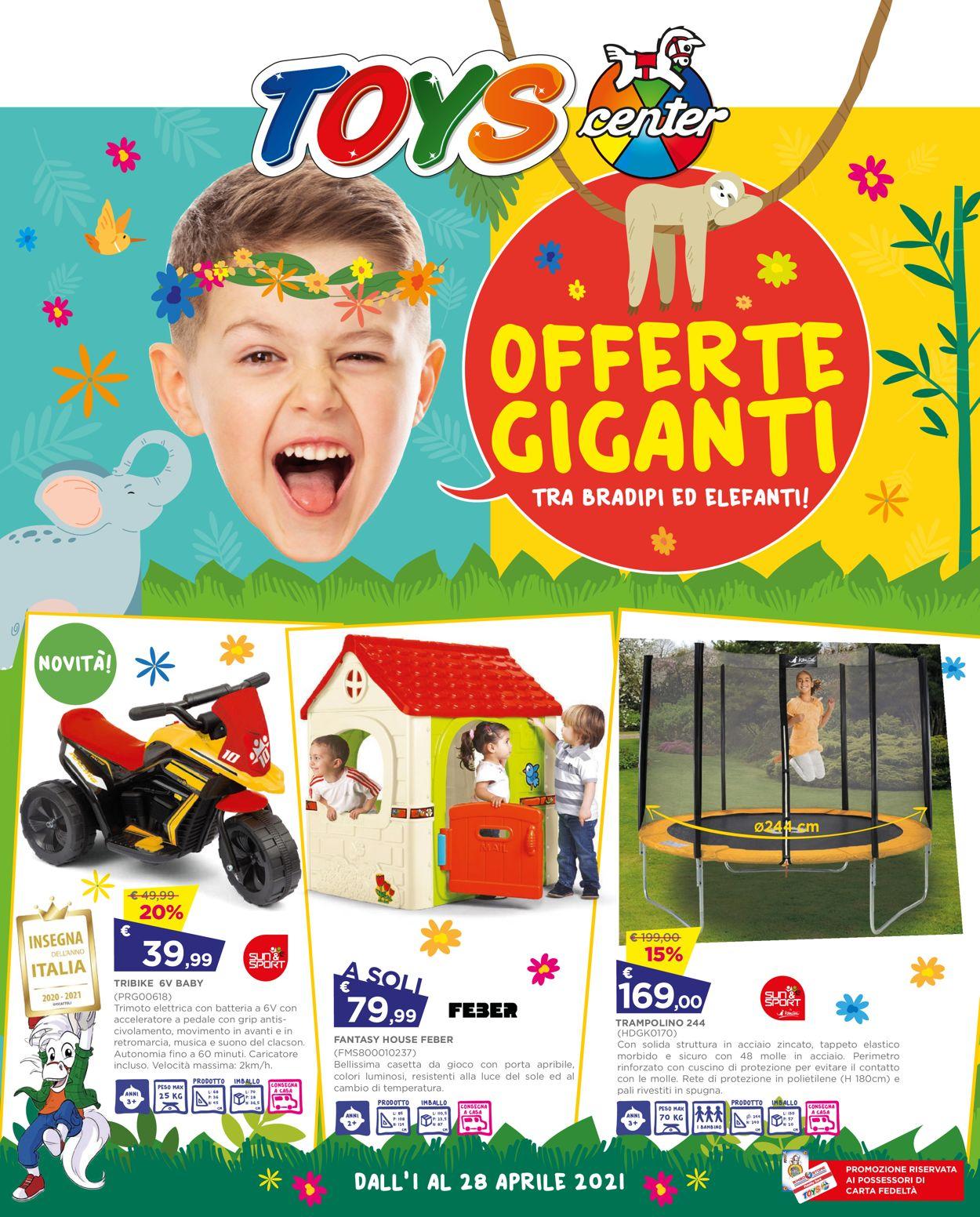 Volantino Toys Center - Offerte 01/04-28/04/2021