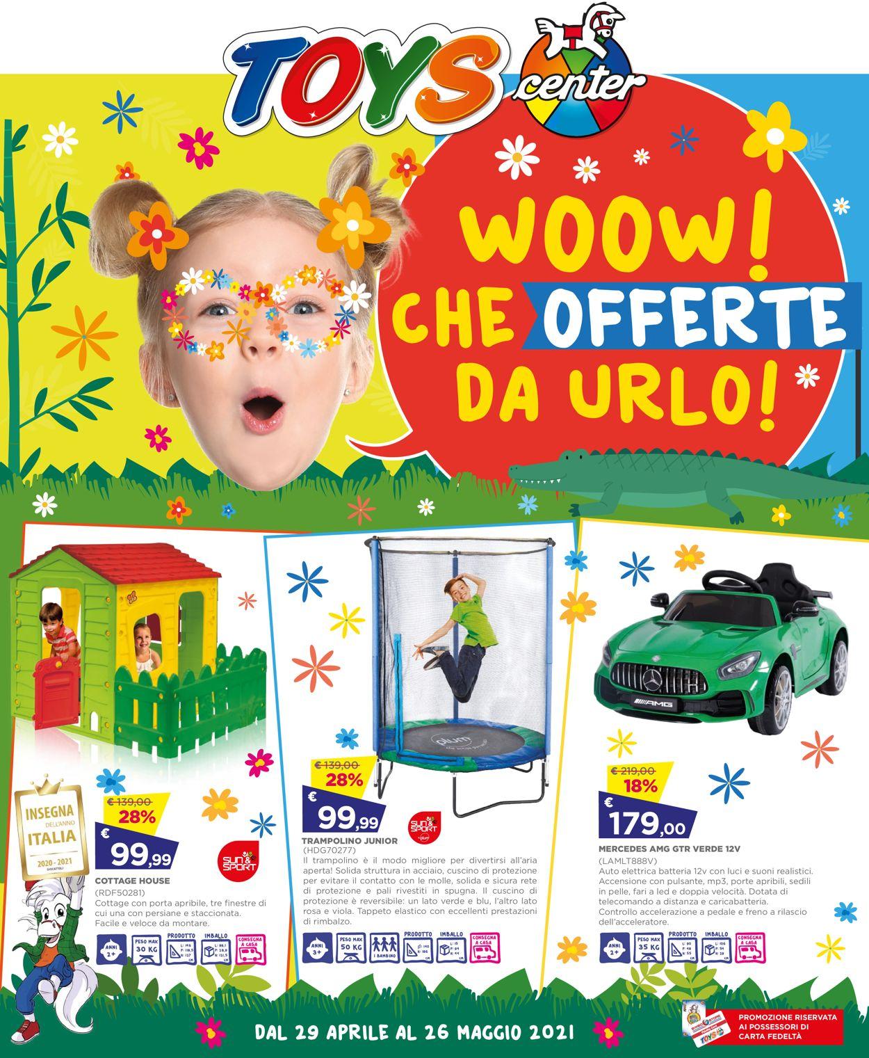 Volantino Toys Center - Offerte 29/04-26/05/2021