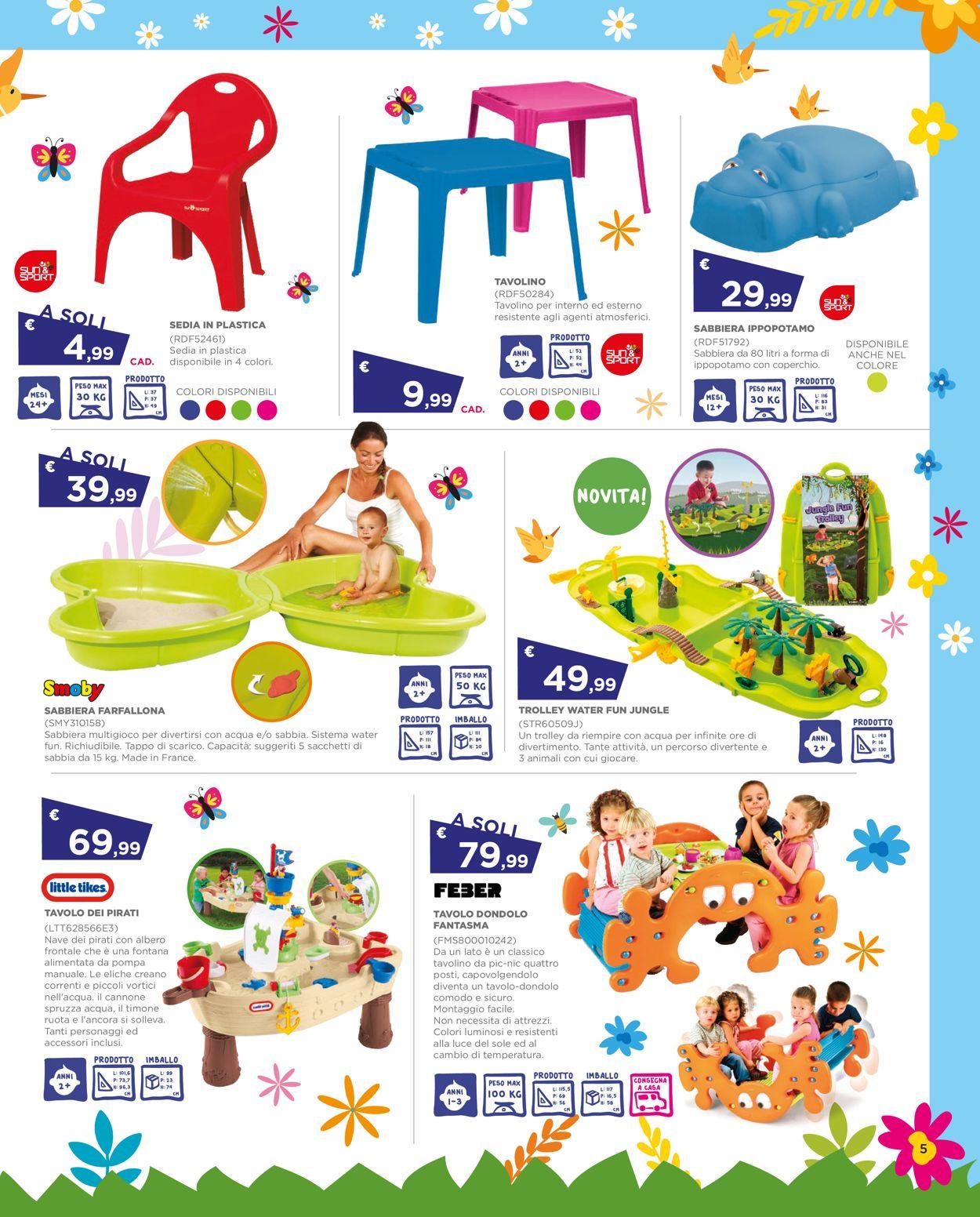 Volantino Toys Center - Offerte 29/04-26/05/2021 (Pagina 5)