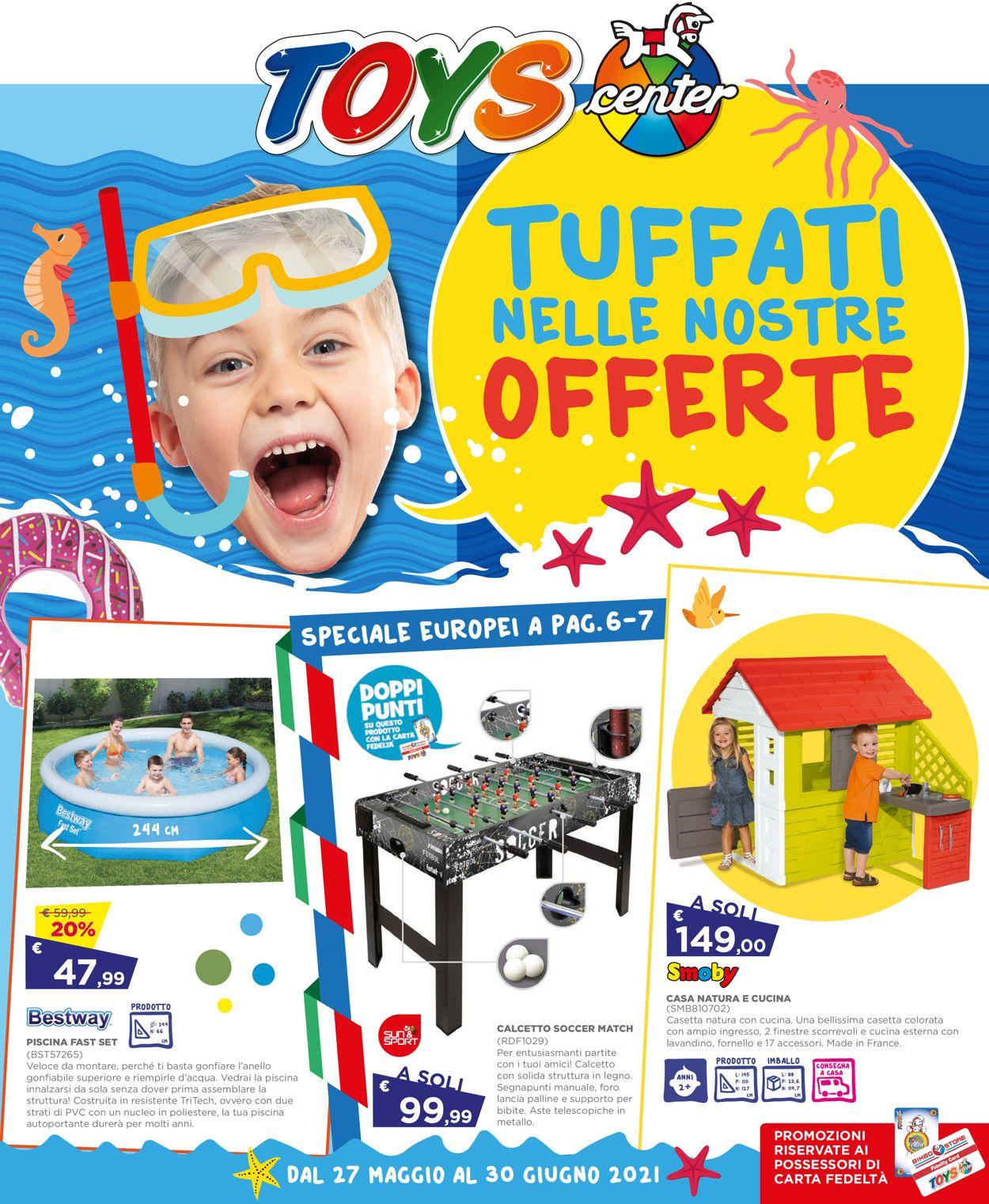 Volantino Toys Center - Offerte 27/05-30/06/2021