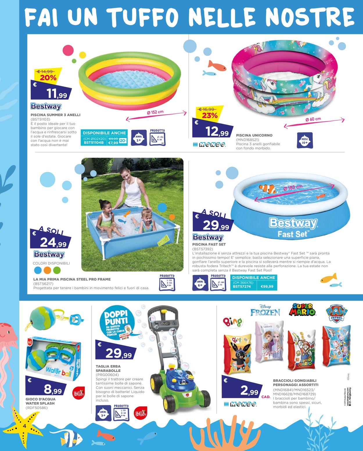Volantino Toys Center - Offerte 27/05-30/06/2021 (Pagina 4)
