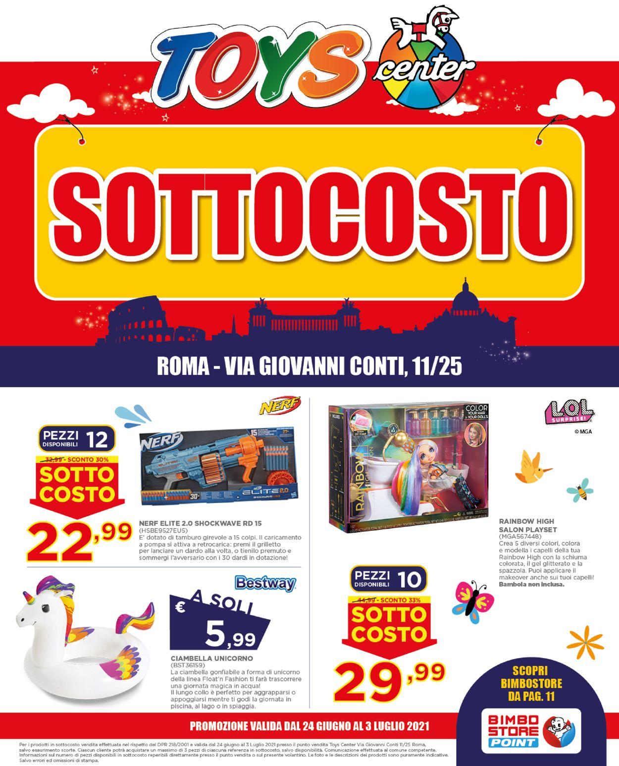 Volantino Toys Center - Offerte 24/06-03/07/2021