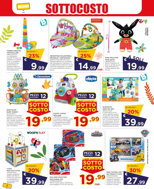 Volantino Toys Center - Offerte 24/06-03/07/2021 (Pagina 2)