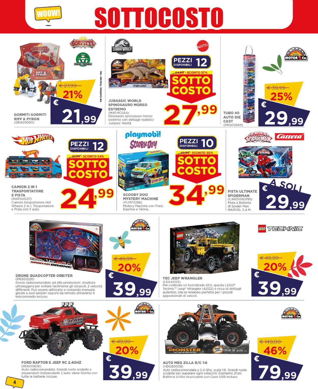 Volantino Toys Center - Offerte 24/06-03/07/2021 (Pagina 4)