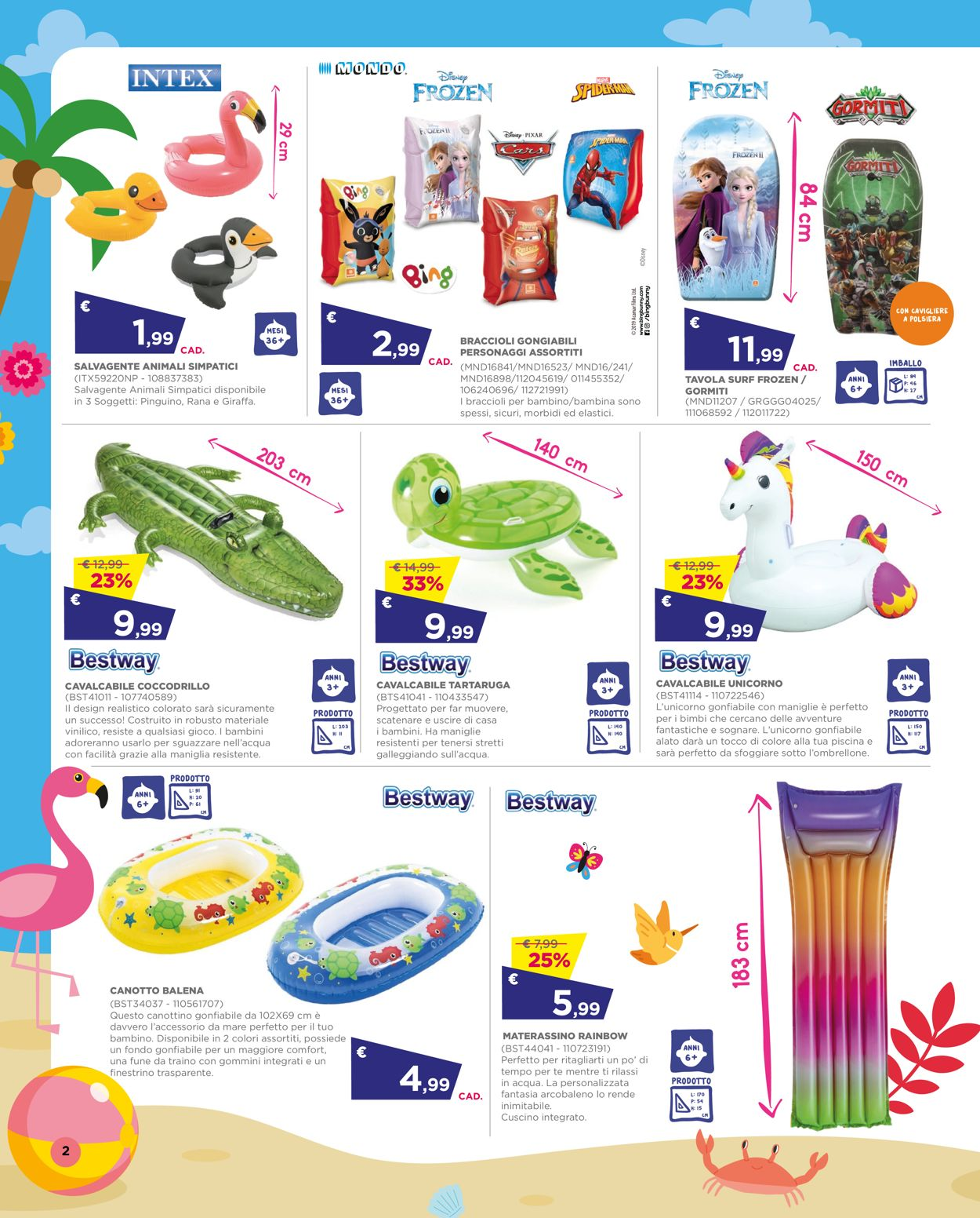 Volantino Toys Center - Offerte 01/07-28/07/2021 (Pagina 2)