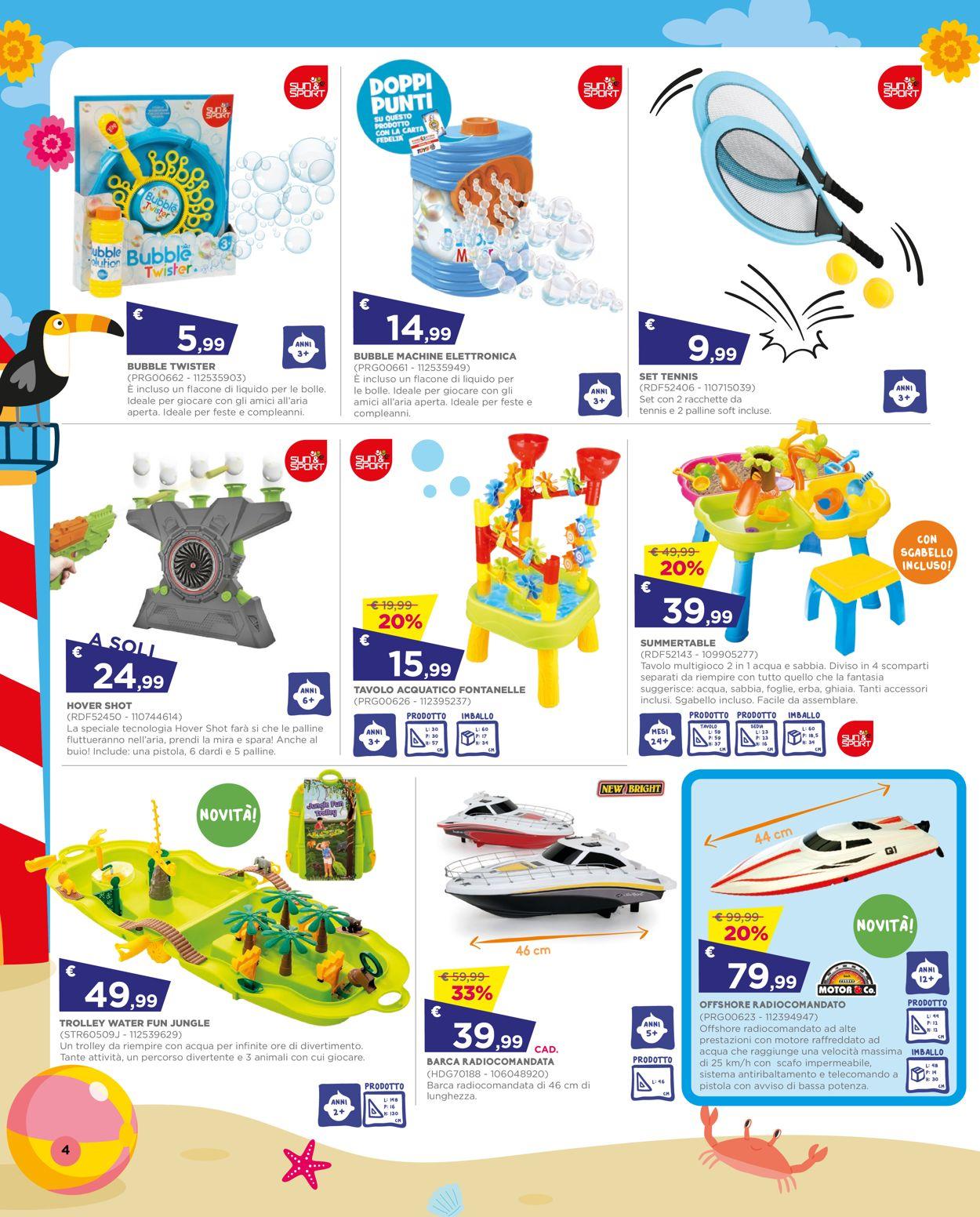 Volantino Toys Center - Offerte 01/07-28/07/2021 (Pagina 4)