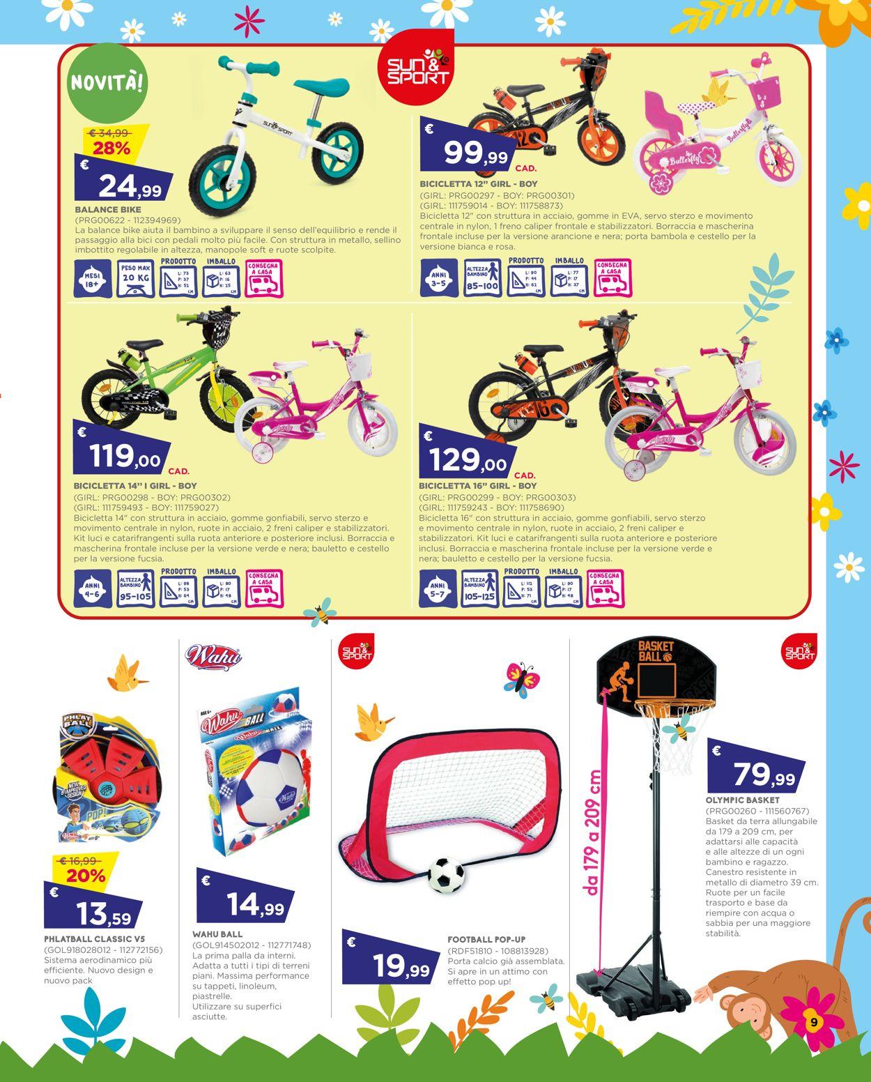 Volantino Toys Center - Offerte 01/07-28/07/2021 (Pagina 9)
