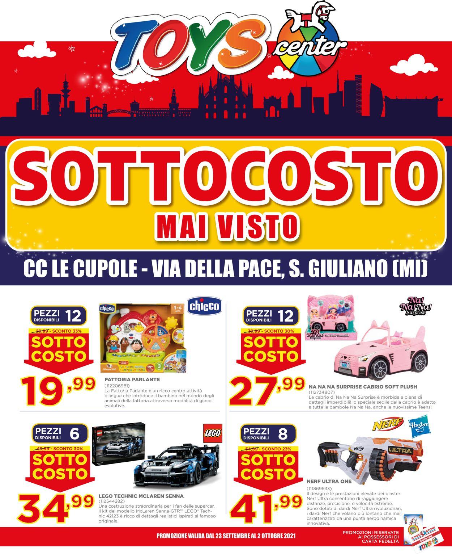 Volantino Toys Center - Offerte 23/09-02/10/2021
