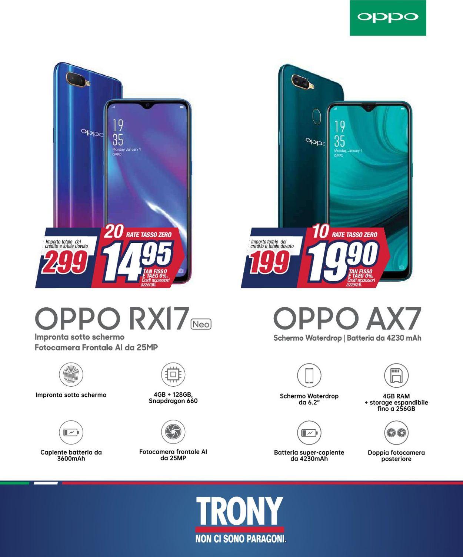 Volantino Trony - Offerte 22/04-30/04/2019 (Pagina 18)