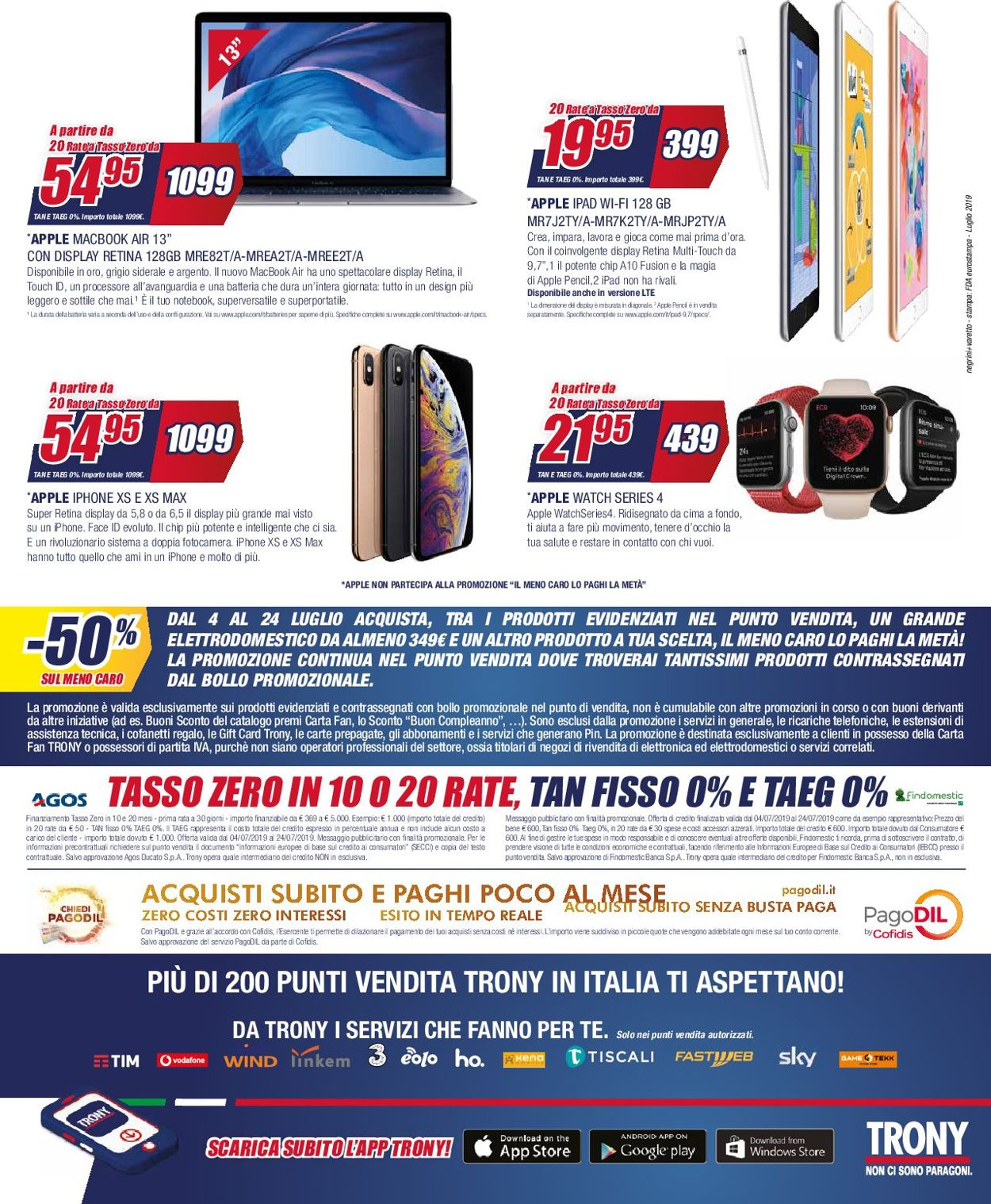 Volantino Trony - Offerte 04/07-24/07/2019 (Pagina 16)