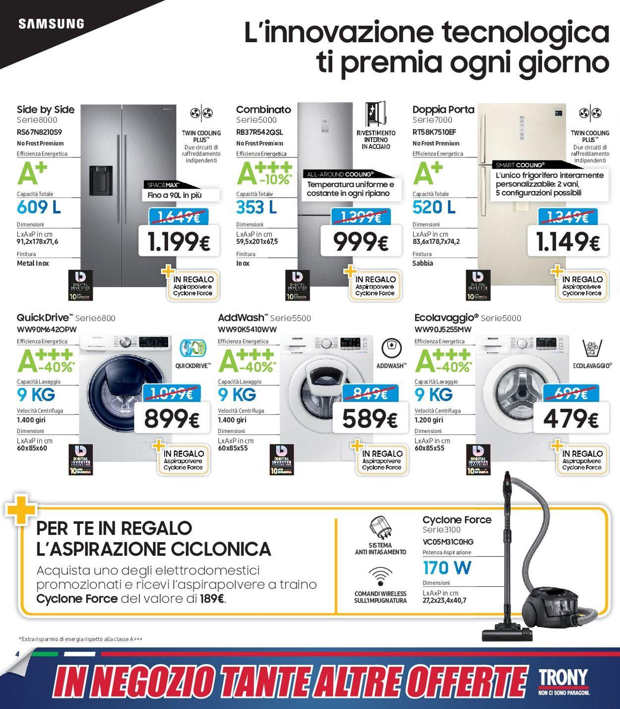 Volantino Trony - Offerte 27/07-14/08/2019 (Pagina 4)