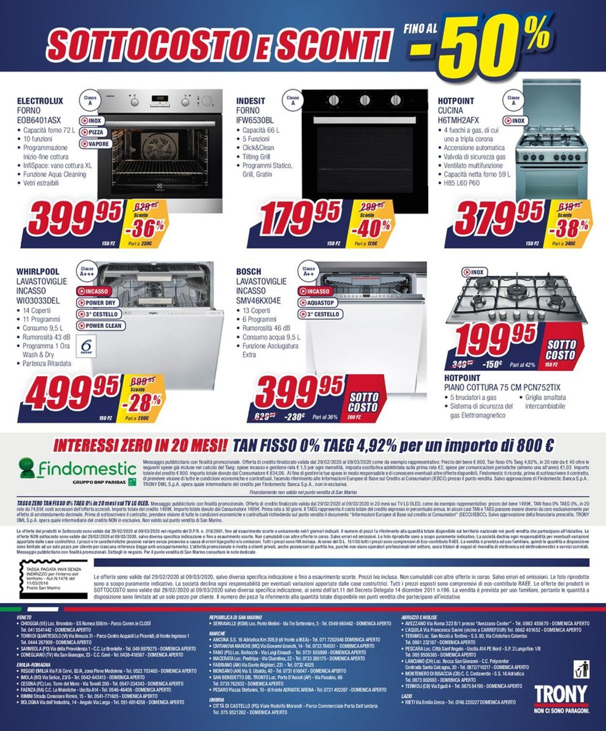 Volantino Trony - Offerte 29/02-09/03/2020 (Pagina 12)