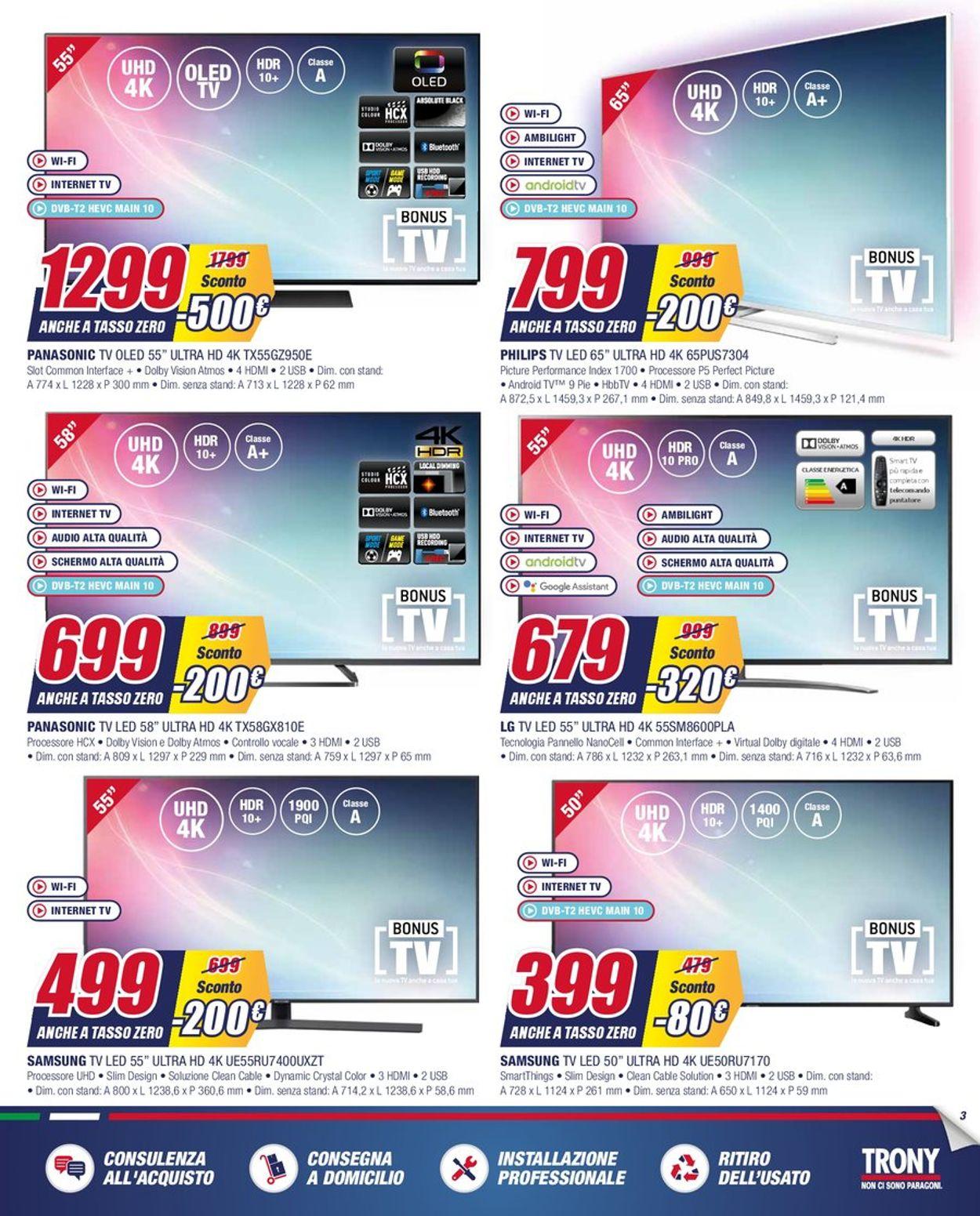 Volantino Trony - Offerte 02/03-31/03/2020 (Pagina 3)