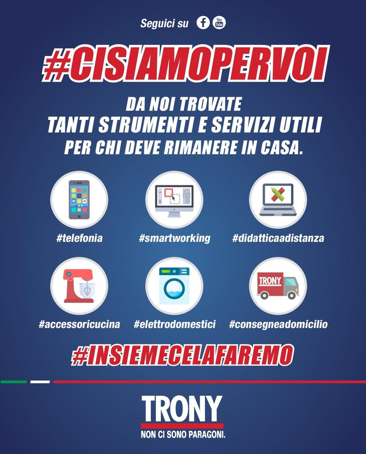 Volantino Trony - Offerte 01/04-14/04/2020
