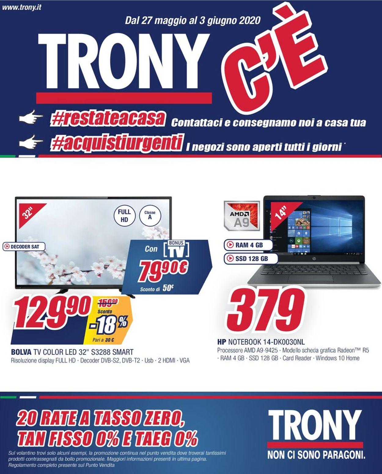 Volantino Trony - Offerte 28/05-30/05/2020 (Pagina 2)