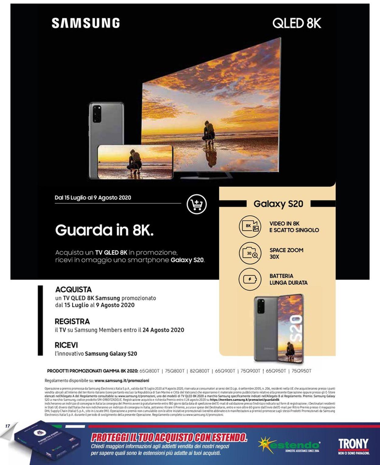 Volantino Trony - Offerte 01/08-02/09/2020 (Pagina 17)