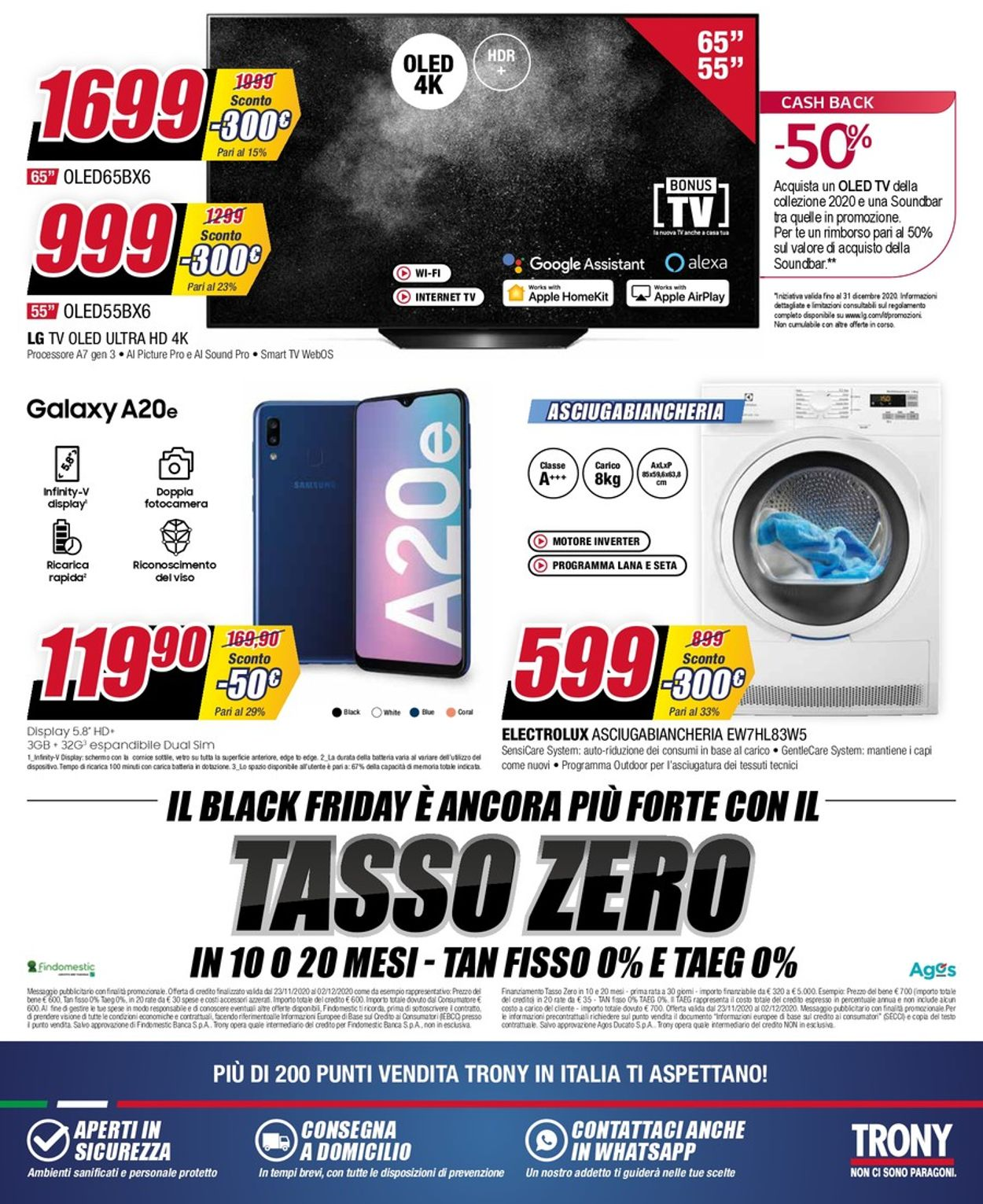 Volantino Trony Black Friday 2020 - Offerte 23/11-02/12/2020 (Pagina 16)