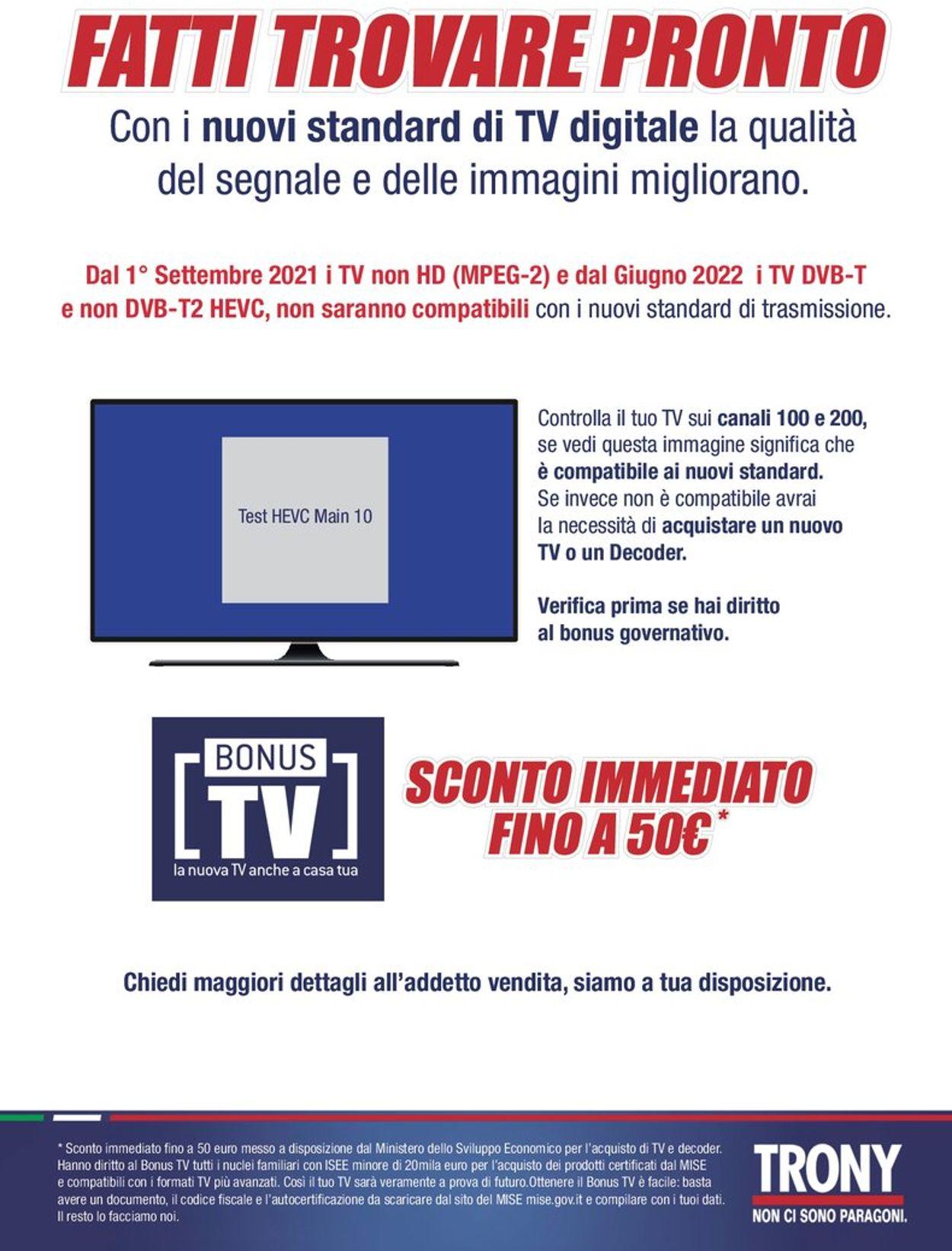 Volantino Trony - Offerte 31/07-21/08/2021 (Pagina 18)