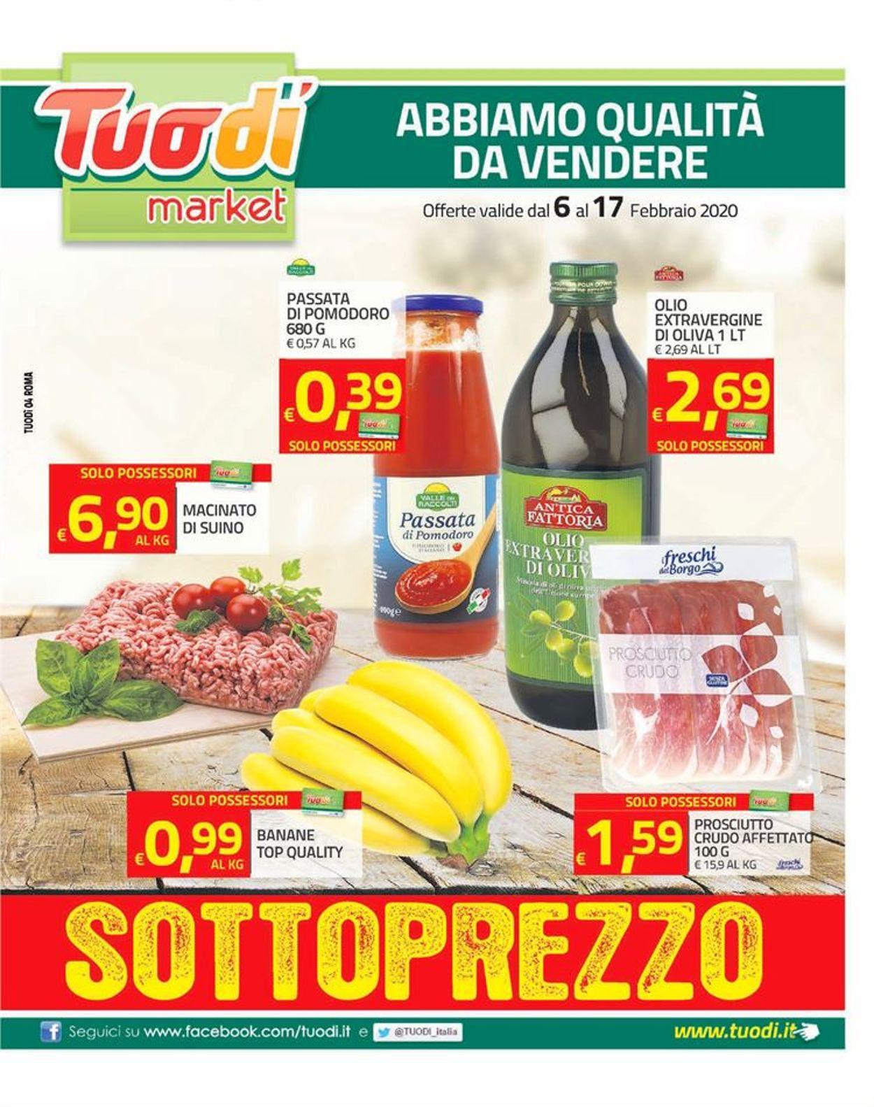 Volantino Tuodi - Offerte 06/02-17/02/2020