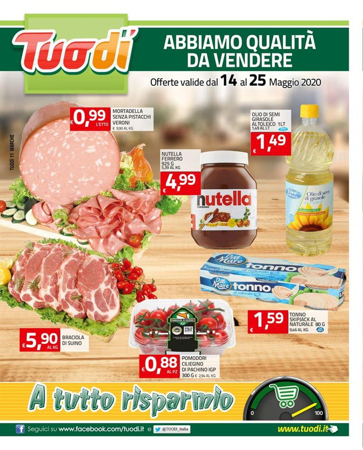 Volantino Tuodi - Offerte 14/05-25/05/2020