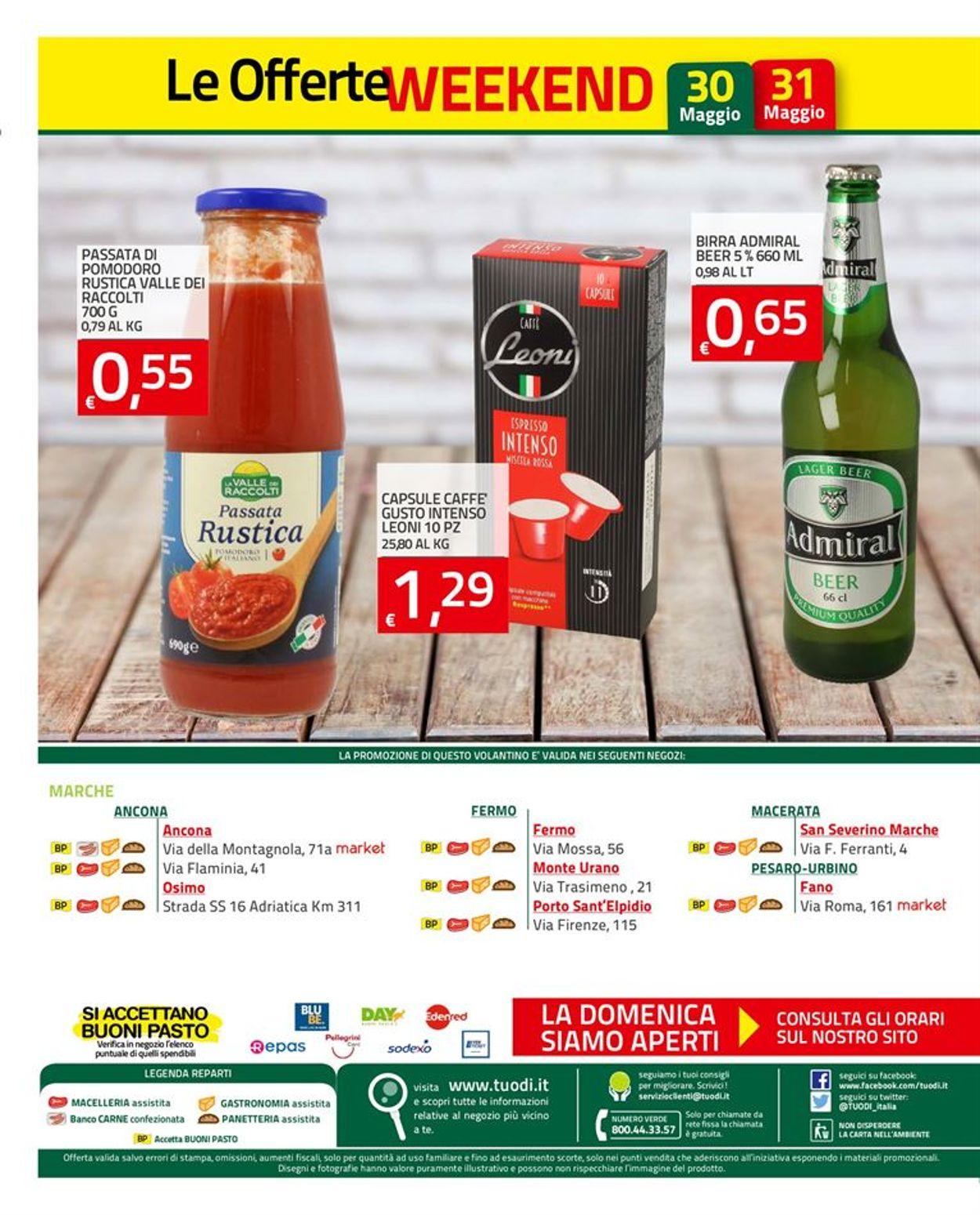 Volantino Tuodi - Offerte 28/05-08/06/2020 (Pagina 10)