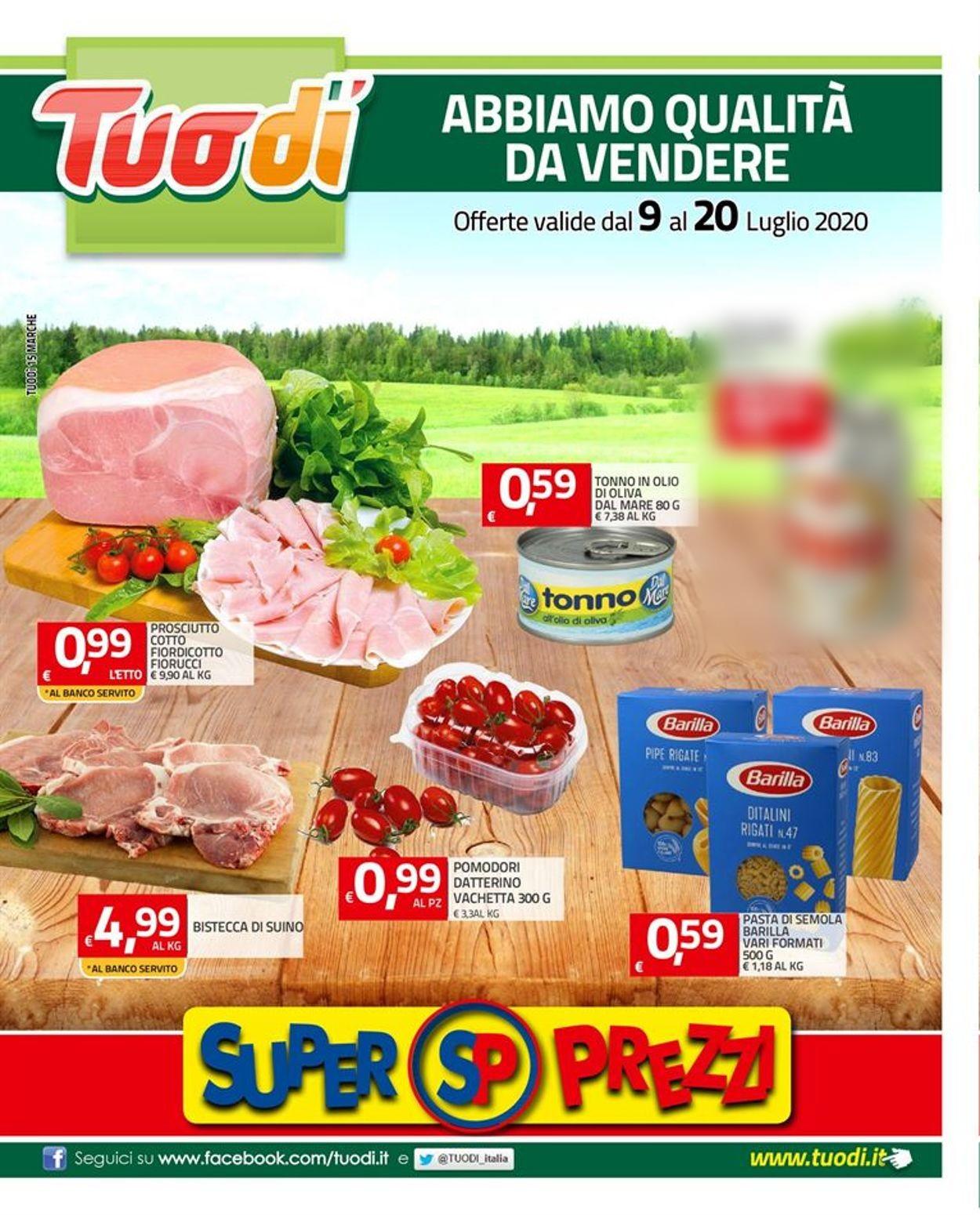 Volantino Tuodi - Offerte 09/07-20/07/2020