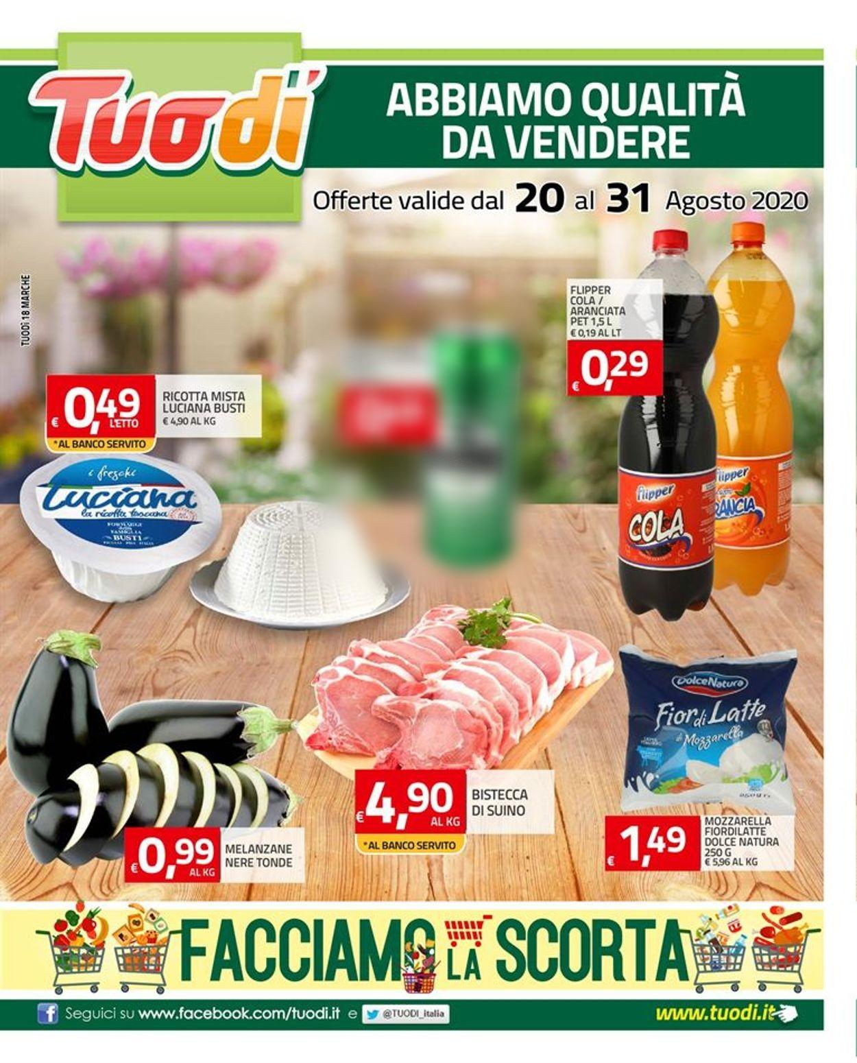 Volantino Tuodi - Offerte 20/08-31/08/2020