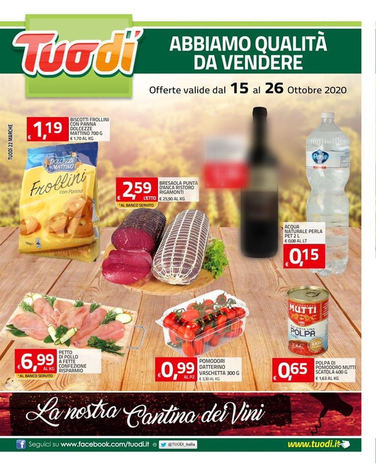 Volantino Tuodi - Offerte 15/10-26/10/2020