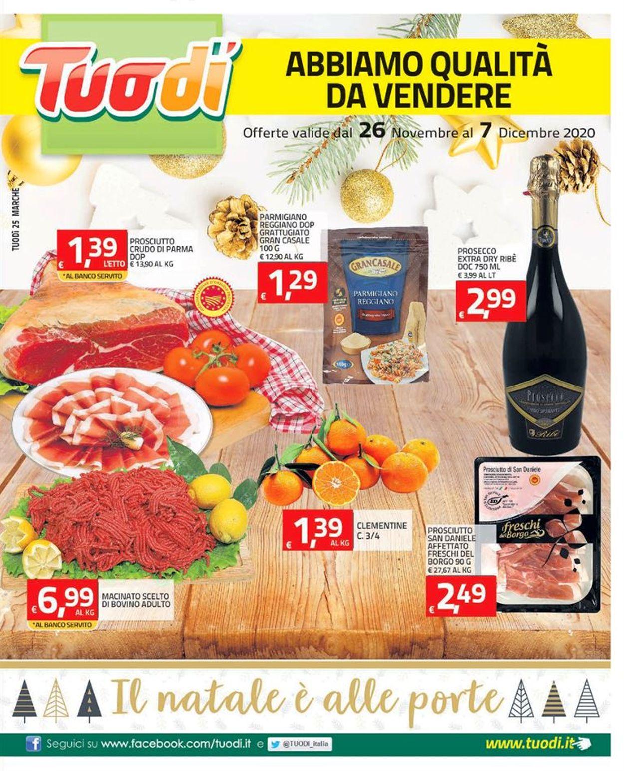 Volantino Tuodi - Black Friday 2020 - Offerte 26/11-07/12/2020