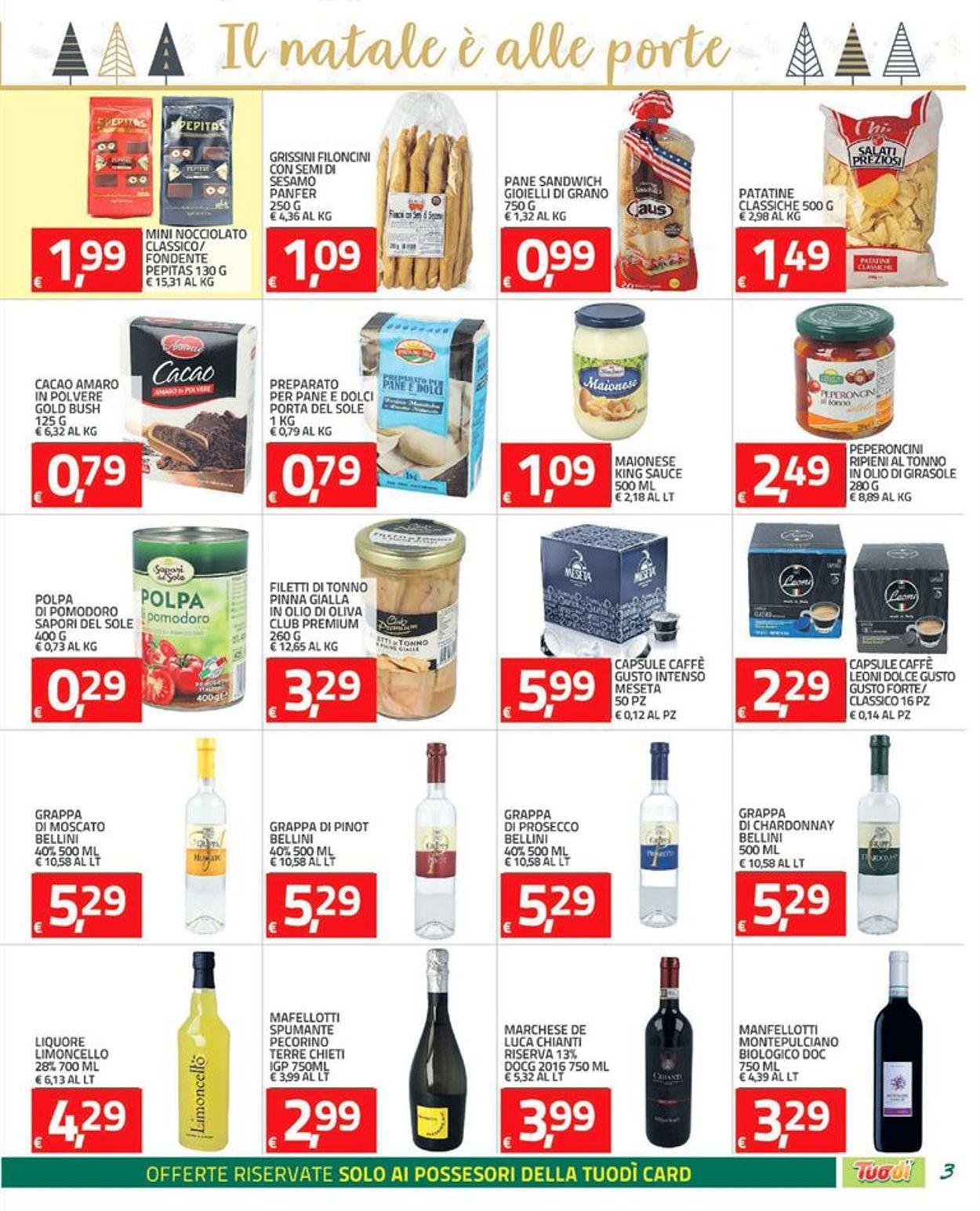 Volantino Tuodi - Black Friday 2020 - Offerte 26/11-07/12/2020 (Pagina 3)
